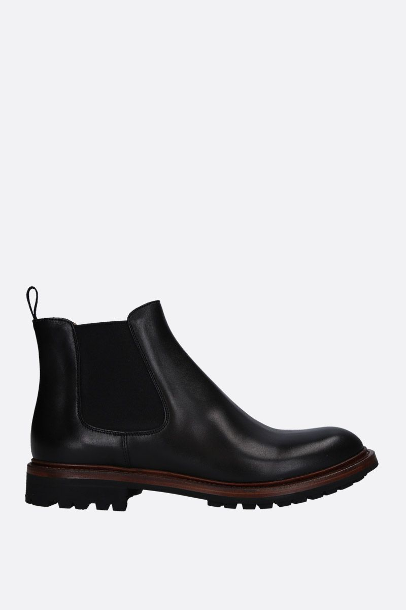 CHURCH'S: Genie chelsea boots in smooth leather Color Black_1
