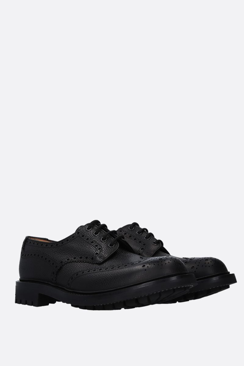 CHURCH'S: Mc Pherson derby shoes in grainy leather Color Black_2