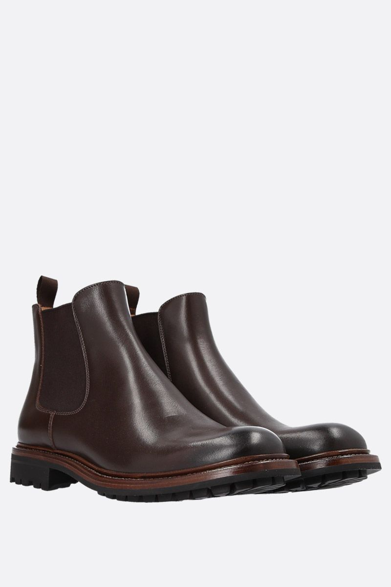 CHURCH'S: Genie chelsea boots in smooth leather Color Brown_2
