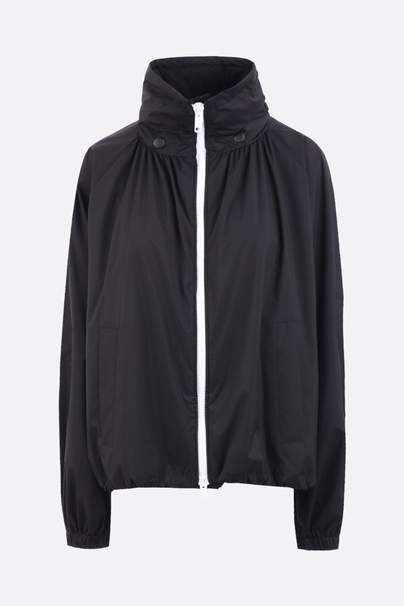 GIVENCHY: technical fabric full-zip windbreaker Color Black_1