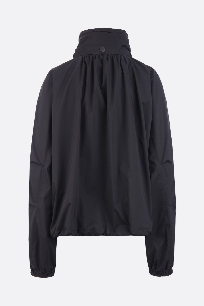 GIVENCHY: technical fabric full-zip windbreaker Color Black_2