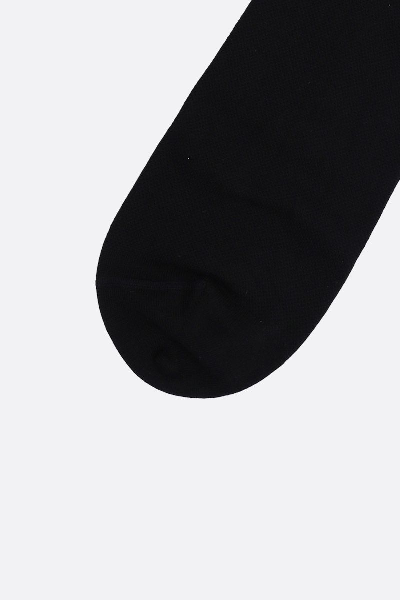 GIVENCHY: Givenchy Sport socks in stretch cotton Color Black_2