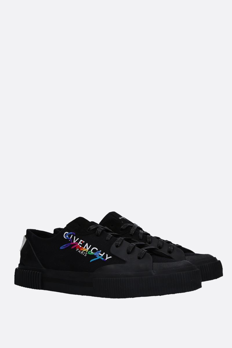 GIVENCHY: sneaker low-top Tennis Light in canvas Colore Multicolore_2
