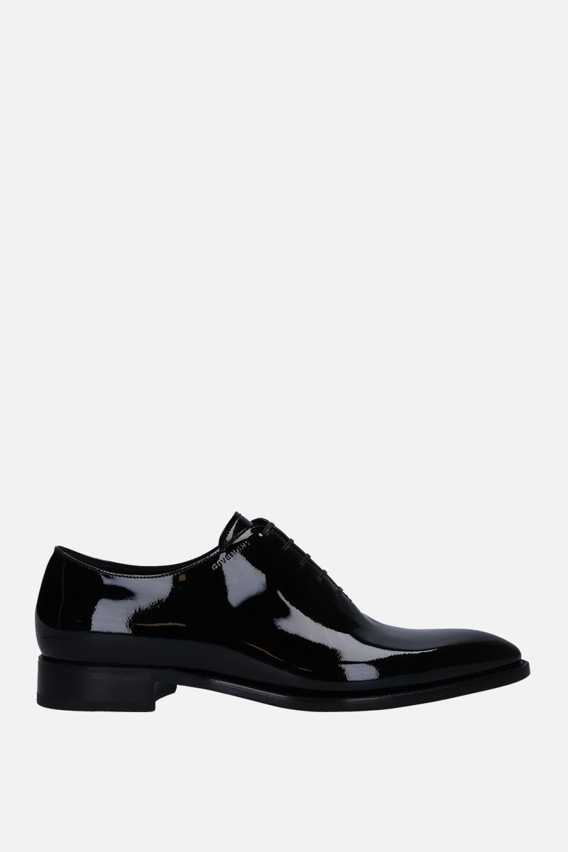 GIVENCHY: patent leather oxford shoes Color Black_1