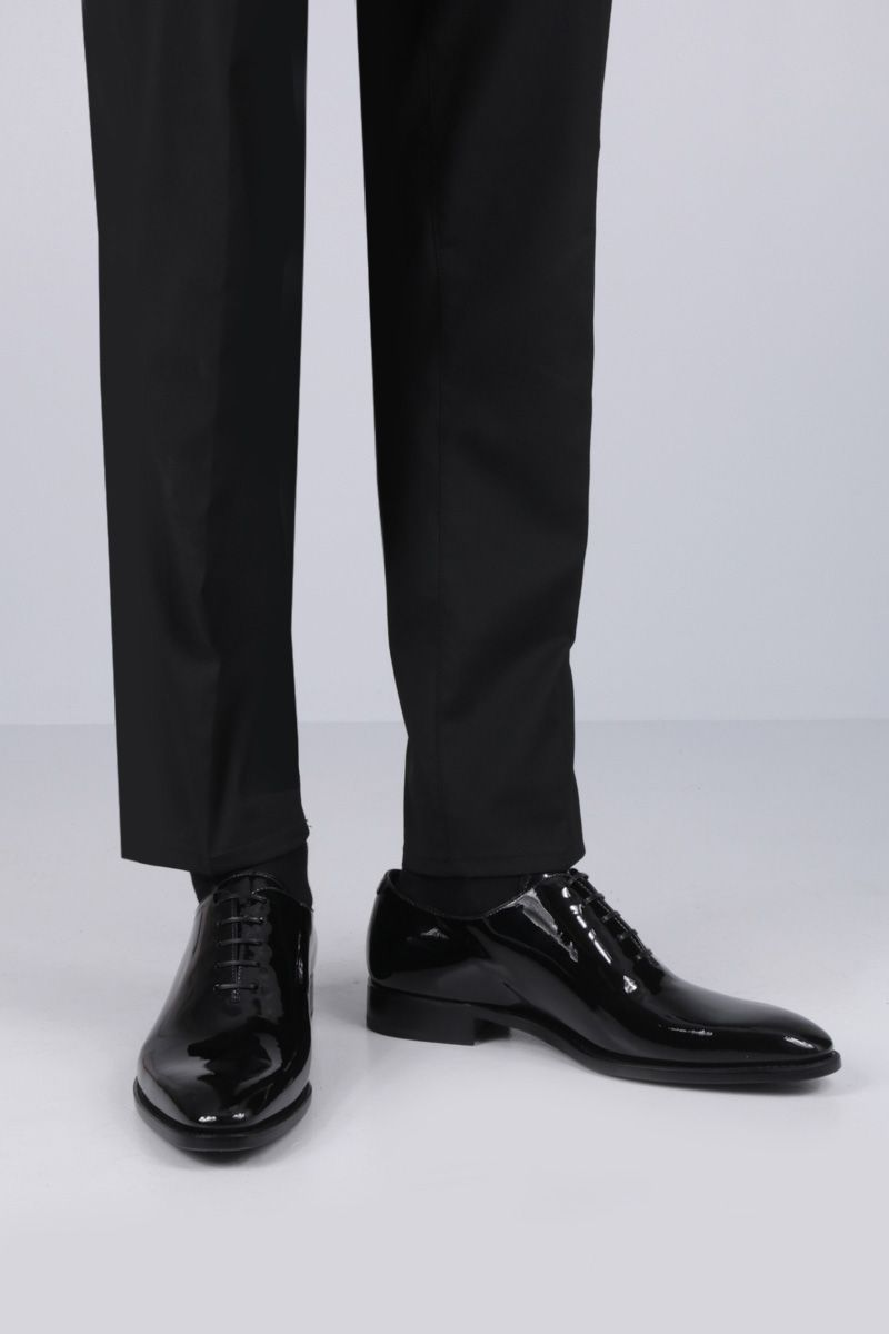 GIVENCHY: patent leather oxford shoes Color Black_2