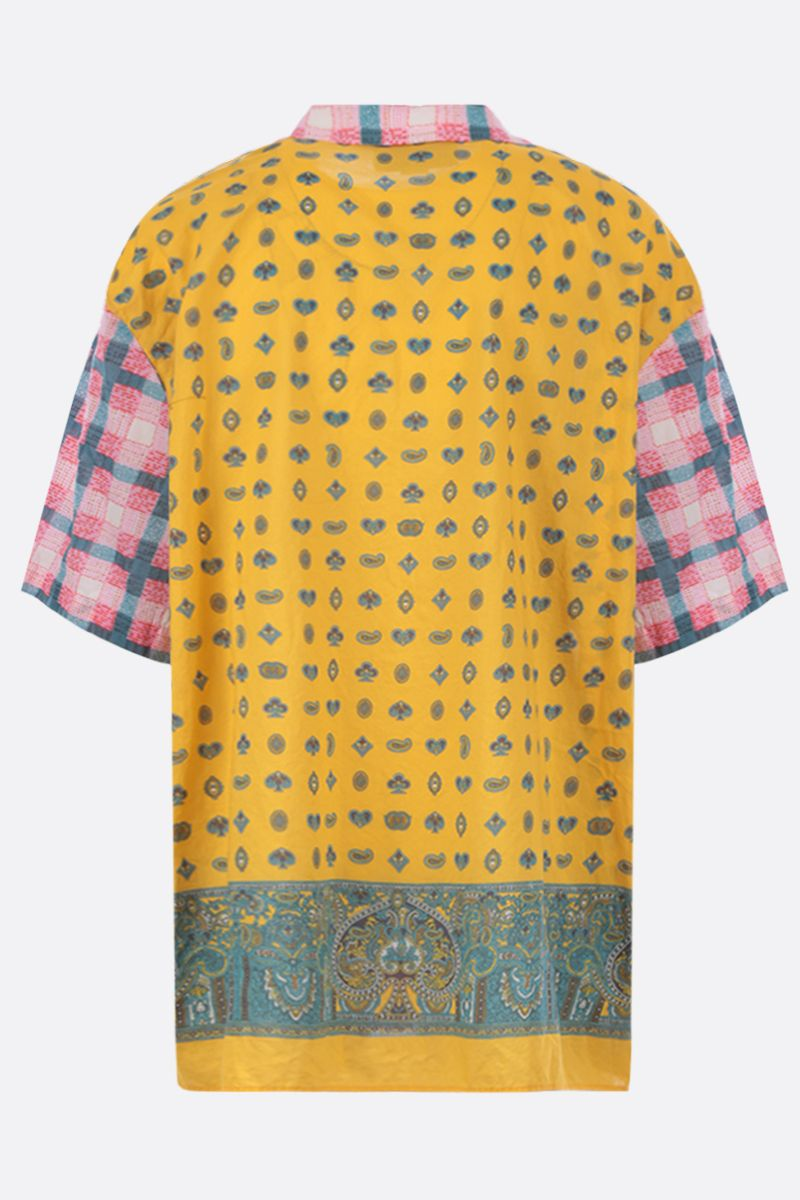 GUCCI: oversized bowling shirt in printed cotton Color Multicolor_2