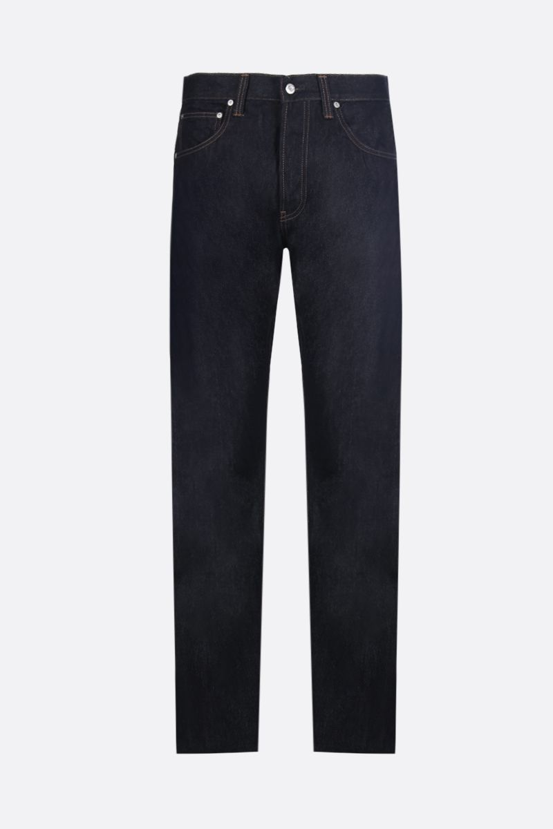 HELMUT LANG: high-waist jeans Color Blue_1