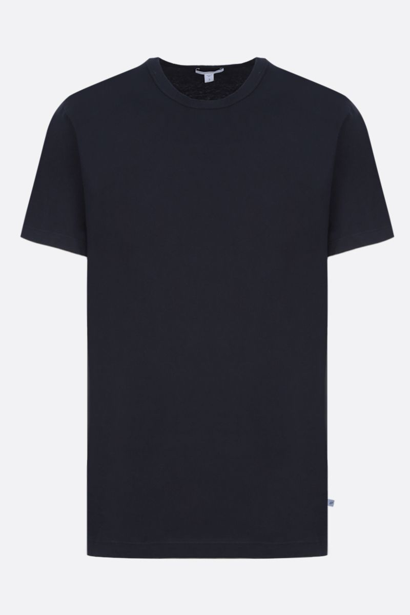 JAMES PERSE: t-shirt regular-fit in jersey di cotone Colore Blu_1