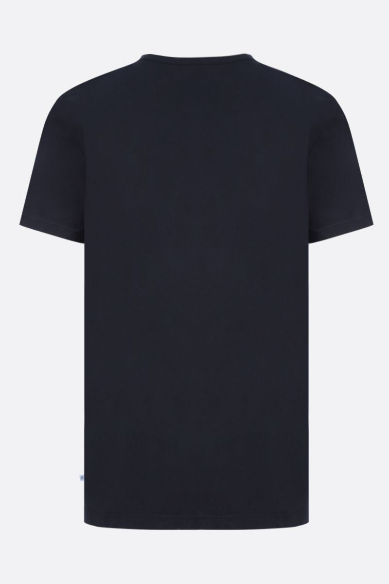 JAMES PERSE: t-shirt regular-fit in jersey di cotone Colore Blu_2