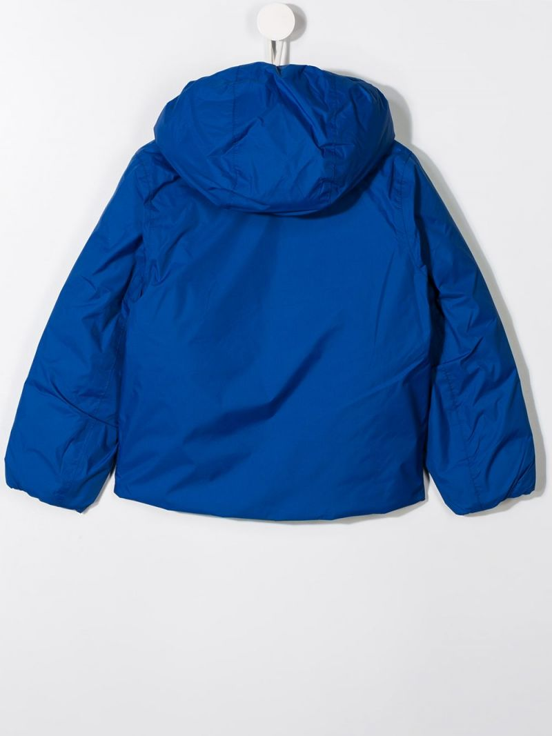 K-WAY KIDS: nylon reversible down jacket_2