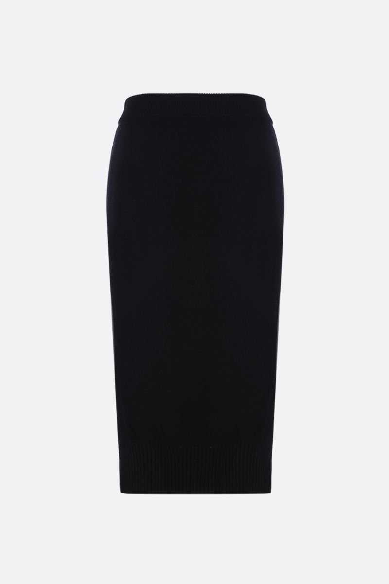KENZO: Kenzo knit pencil skirt Color Black_2