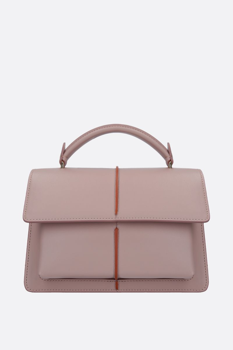 MARNI: Attachè handbag in smooth leather Color Pink_1