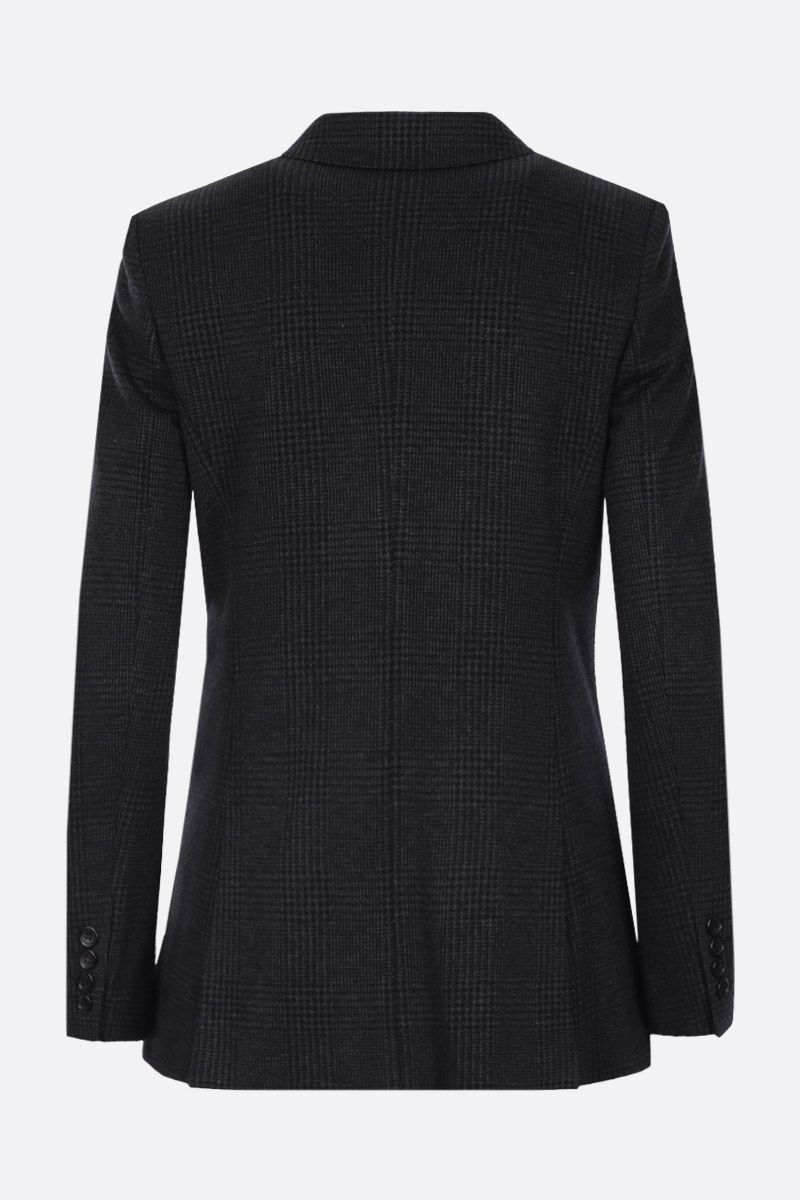 MAX MARA: Madison double-breasted jacket in wool blend Color Black_2