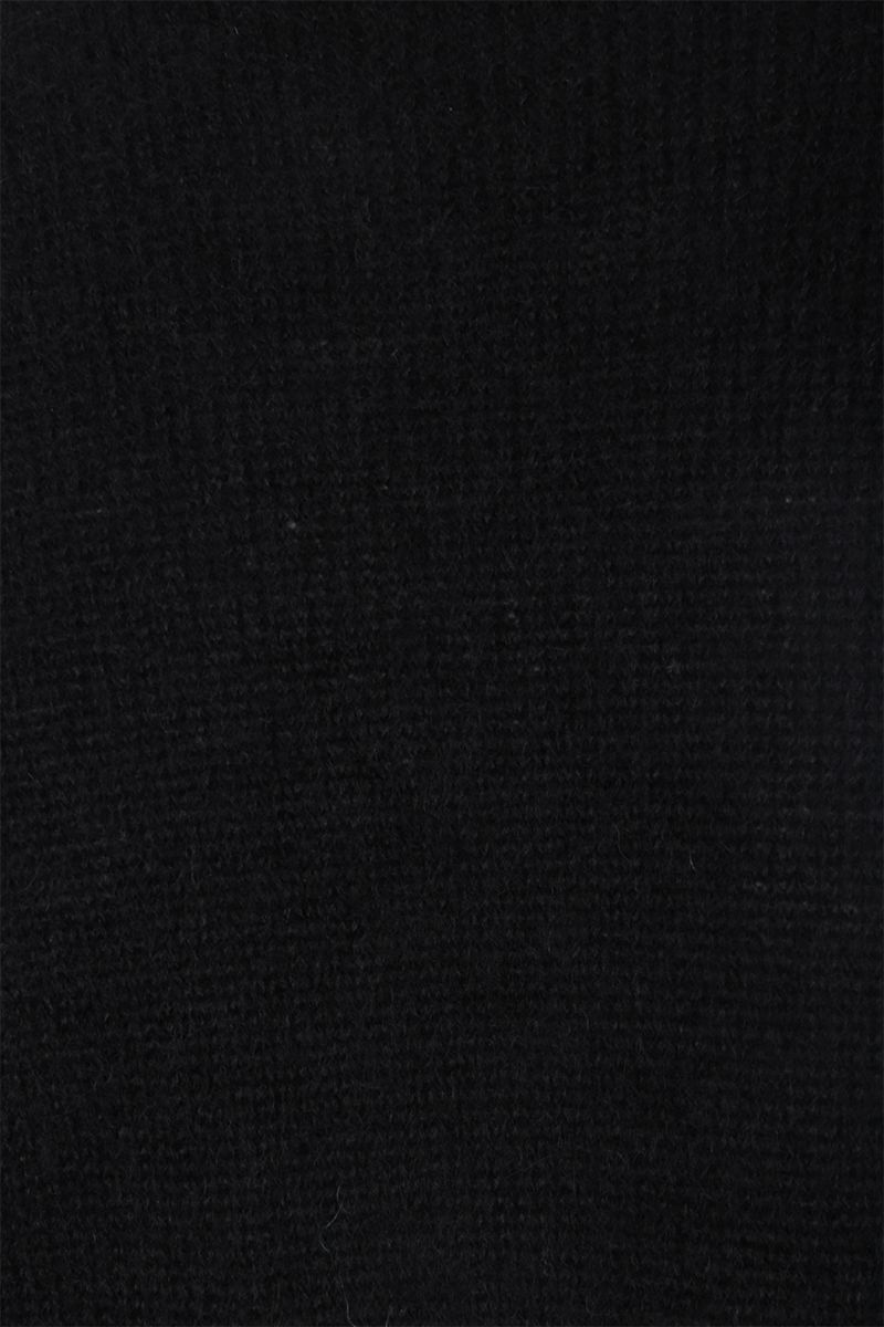 MAX MARA: Relax pullover in mohair blend Color Black_3