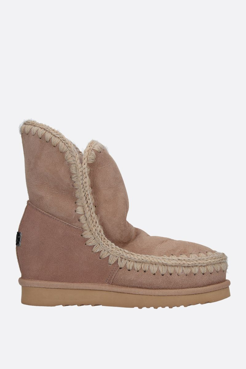 MOU: Eskimo short boots with internal wedge Color Neutral_1