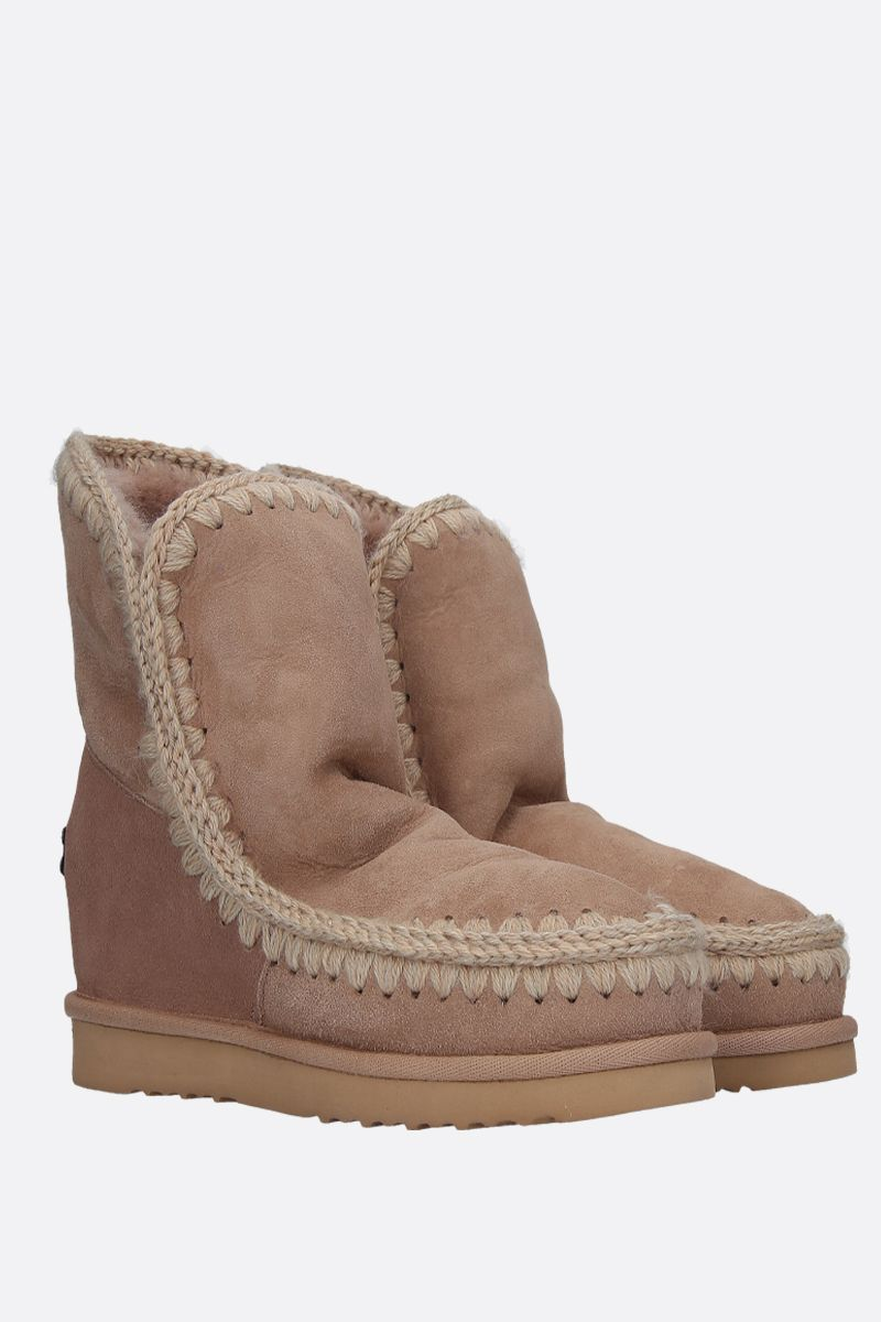 MOU: Eskimo short boots with internal wedge Color Neutral_2