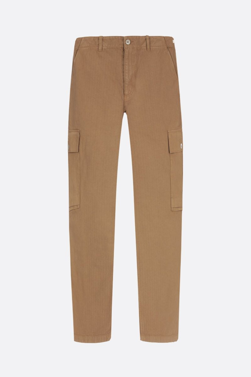 OUR LEGACY: pantalone cargo in cotone Colore Marrone_1