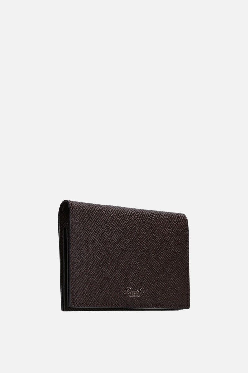 PINEIDER: 720 business card holder in textured leather_3