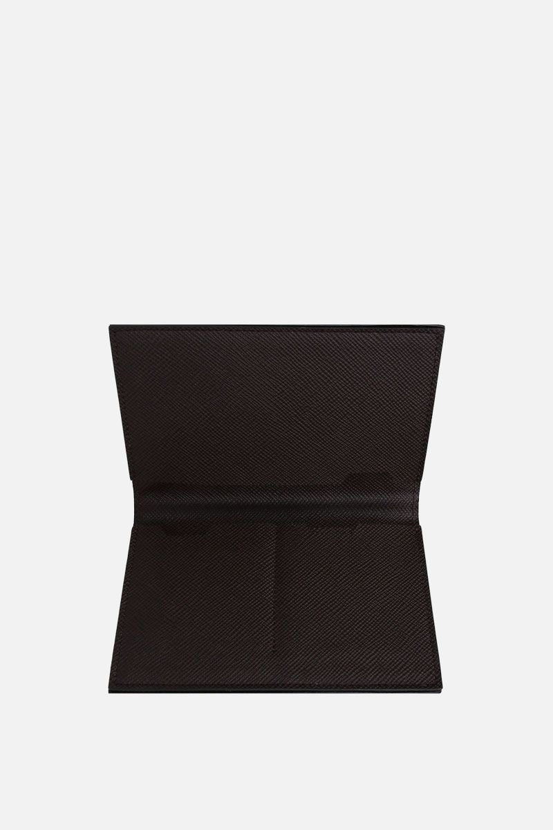 PINEIDER: 720 business card holder in textured leather_2