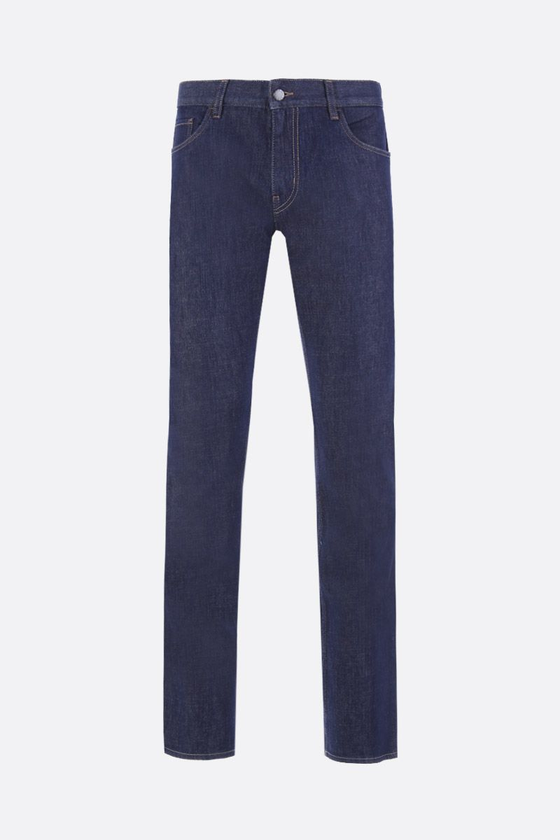 PRADA: tapered-fit jeans Color Blue_1