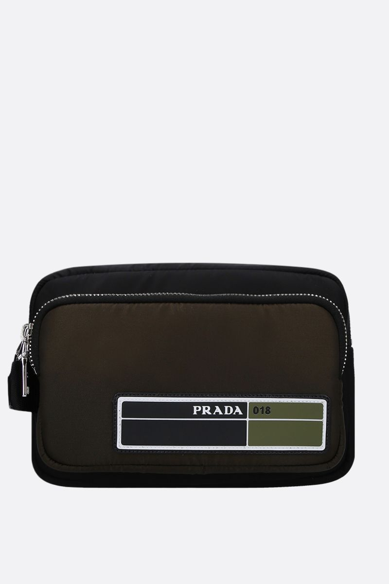 PRADA: beauty case in nylon imbottito_1