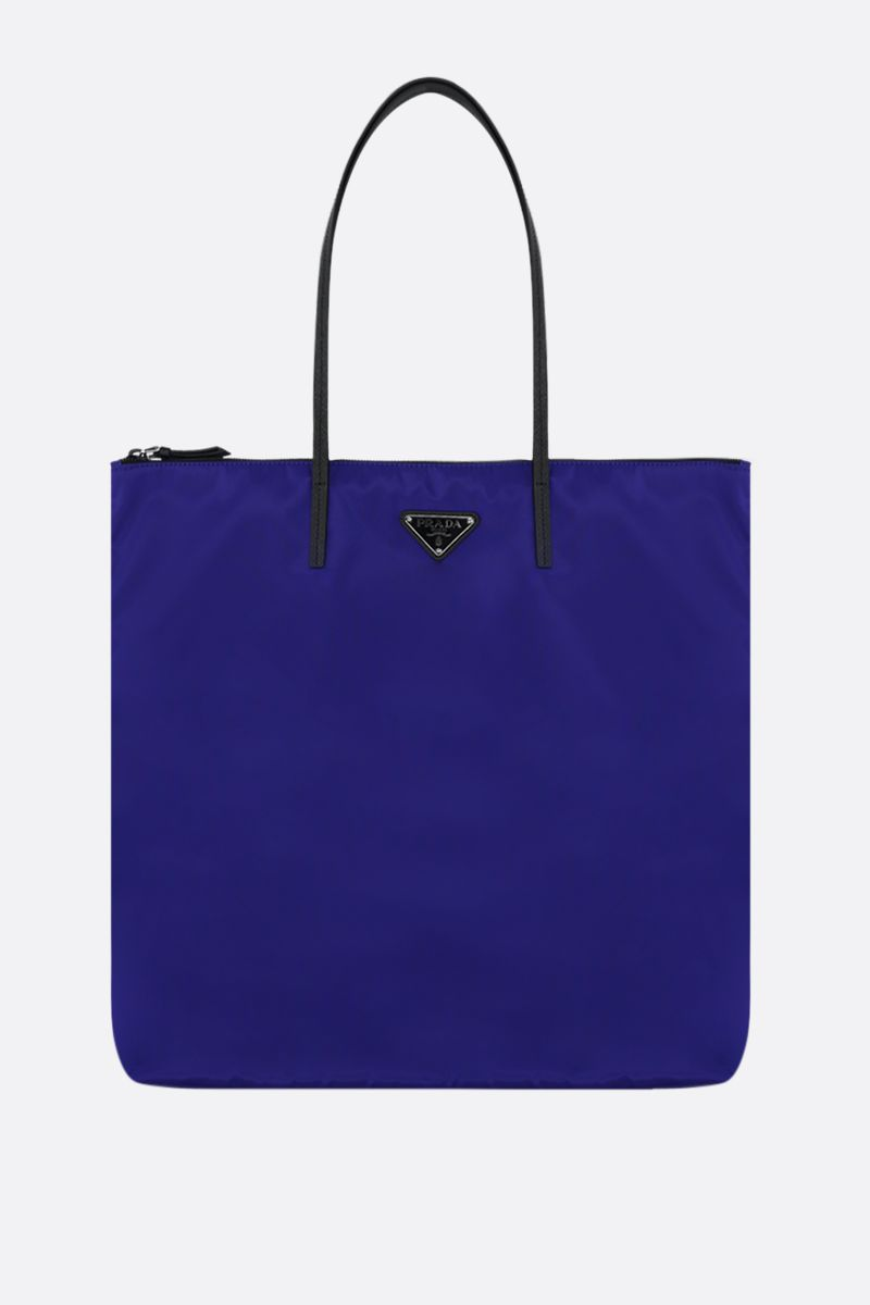 PRADA: Prada Twin nylon tote bags Color Purple_2