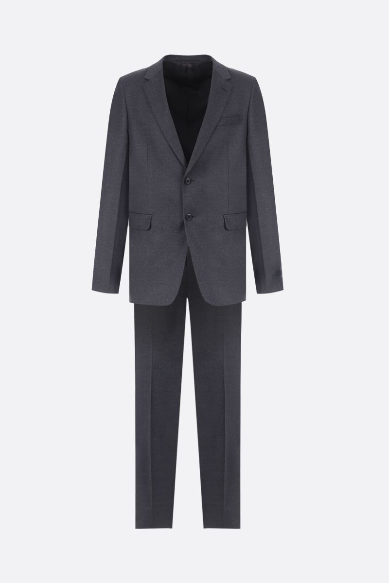 PRADA: two-pieces suit in stretch wool Color Grey_1