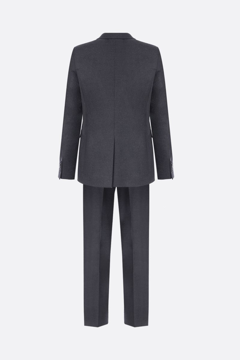 PRADA: two-pieces suit in stretch wool Color Grey_2