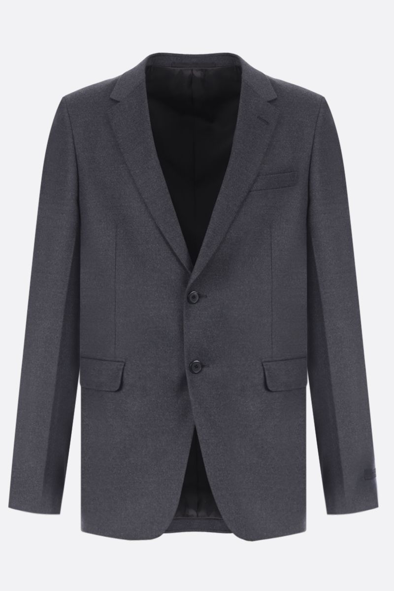 PRADA: two-pieces suit in stretch wool Color Grey_3