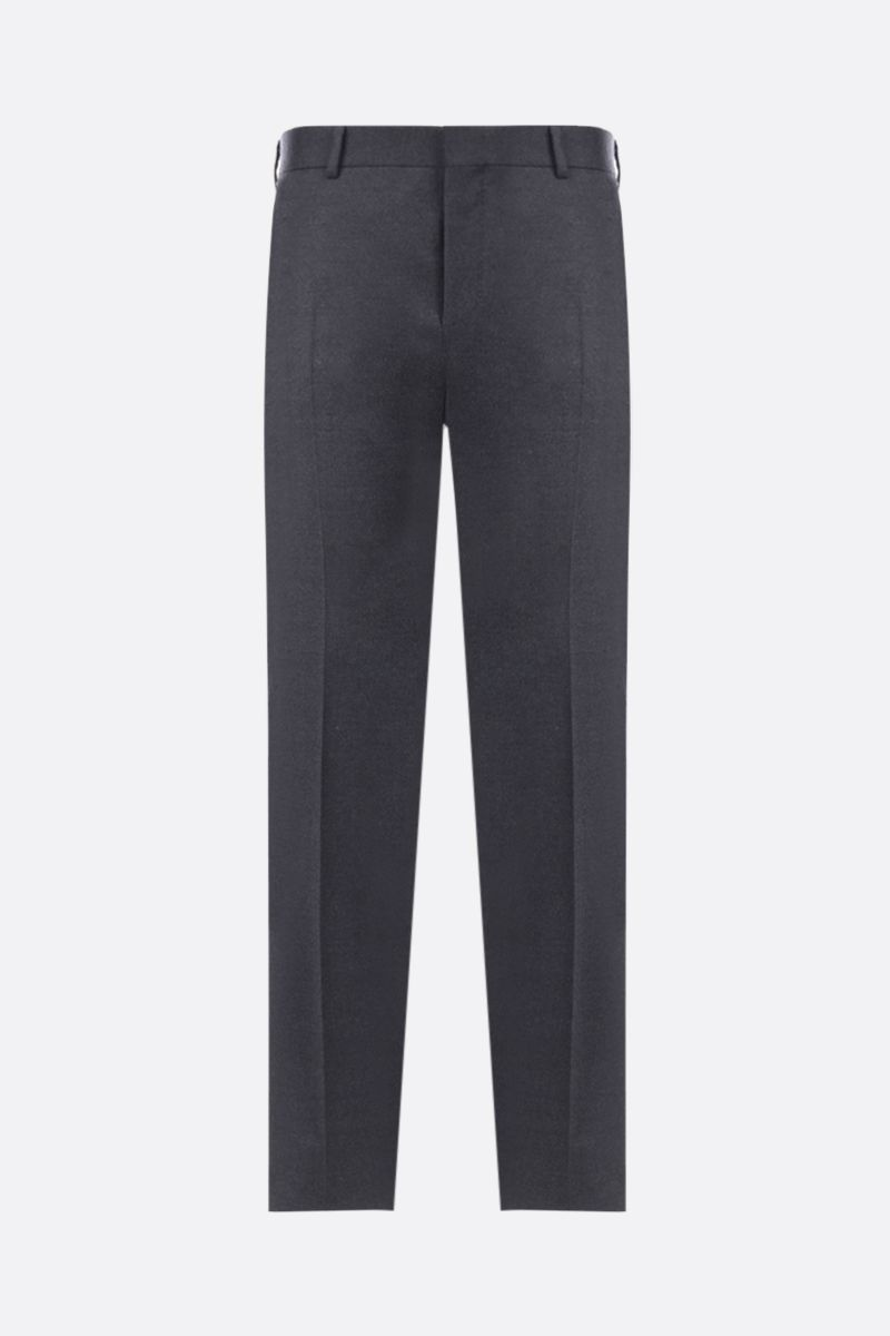 PRADA: two-pieces suit in stretch wool Color Grey_5