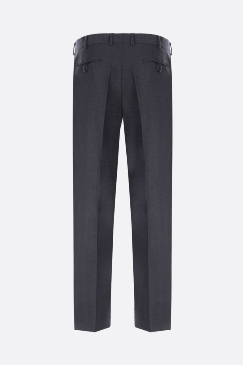 PRADA: two-pieces suit in stretch wool Color Grey_6