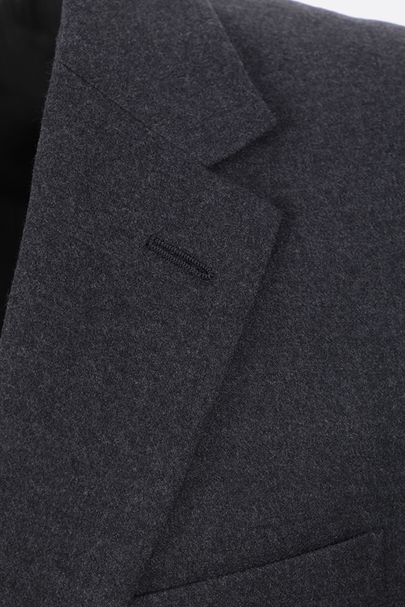 PRADA: two-pieces suit in stretch wool Color Grey_7