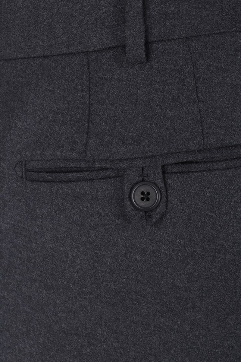 PRADA: two-pieces suit in stretch wool Color Grey_8