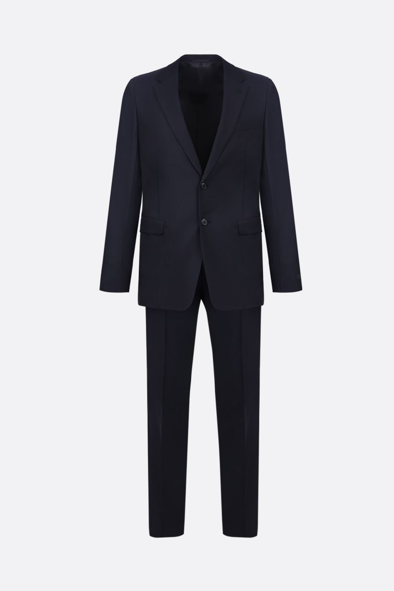PRADA: wool and mohair two-pieces suit Color Blue_1