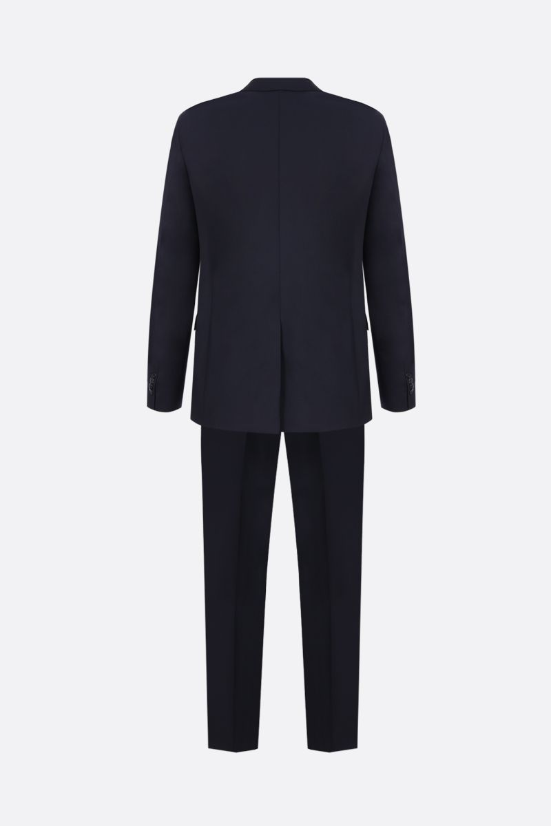 PRADA: wool and mohair two-pieces suit Color Blue_2