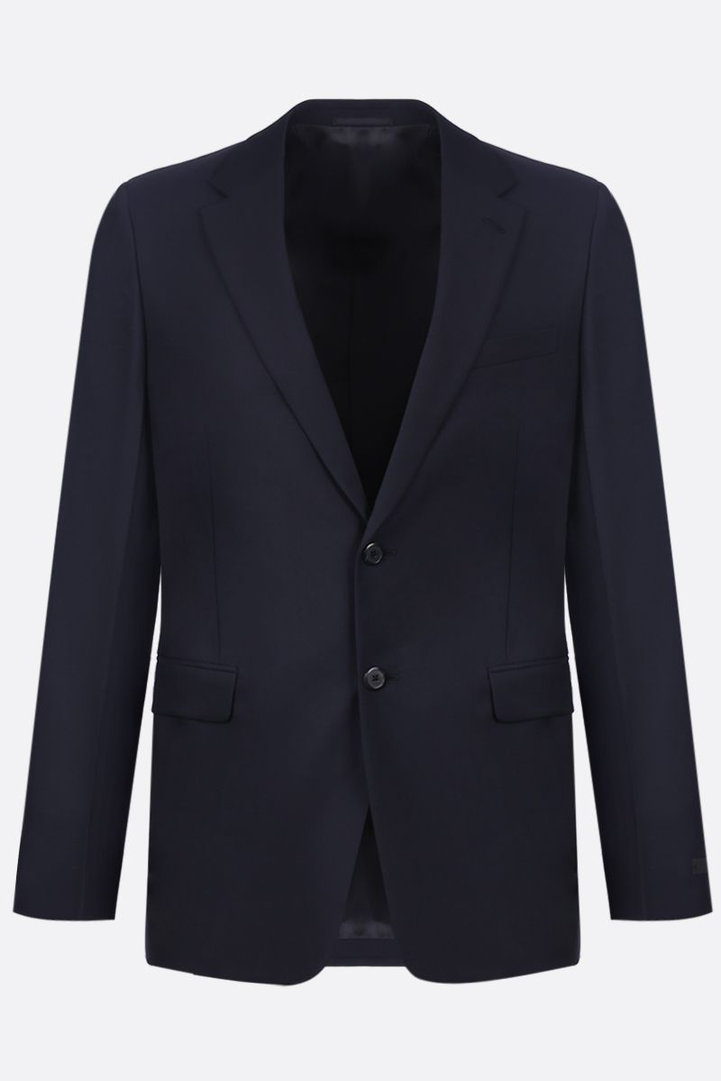 PRADA: wool and mohair two-pieces suit Color Blue_3