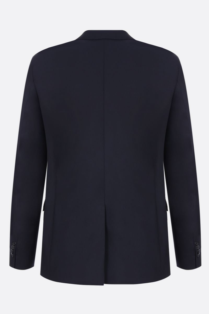 PRADA: wool and mohair two-pieces suit Color Blue_4