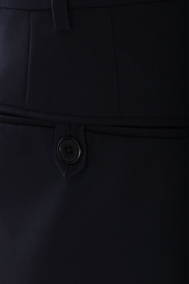 PRADA: wool and mohair two-pieces suit Color Blue_8