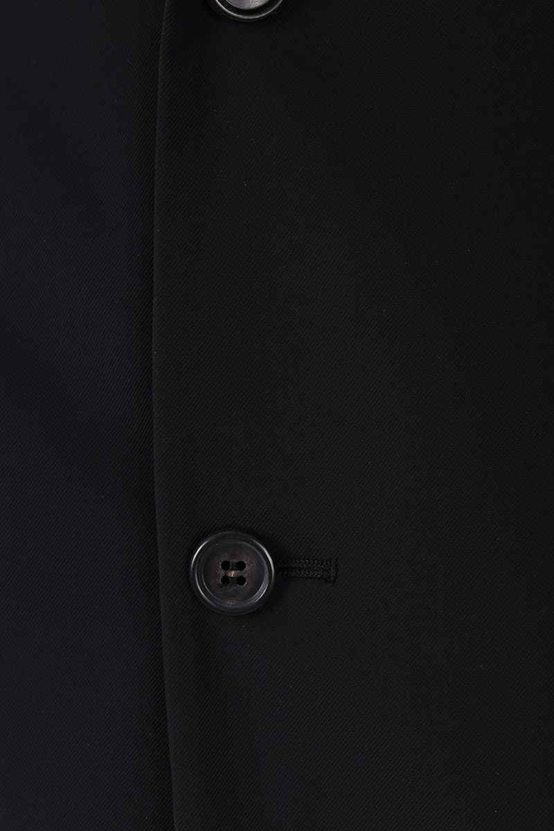 PRADA: single-breasted jacket in technical twill Color Black_3