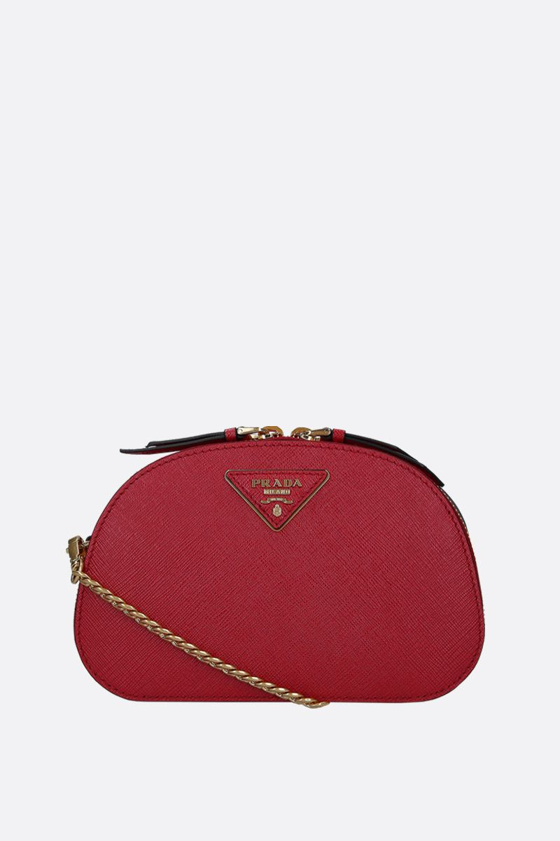PRADA: Prada Odette belt bag in Saffiano leather Color Red_2