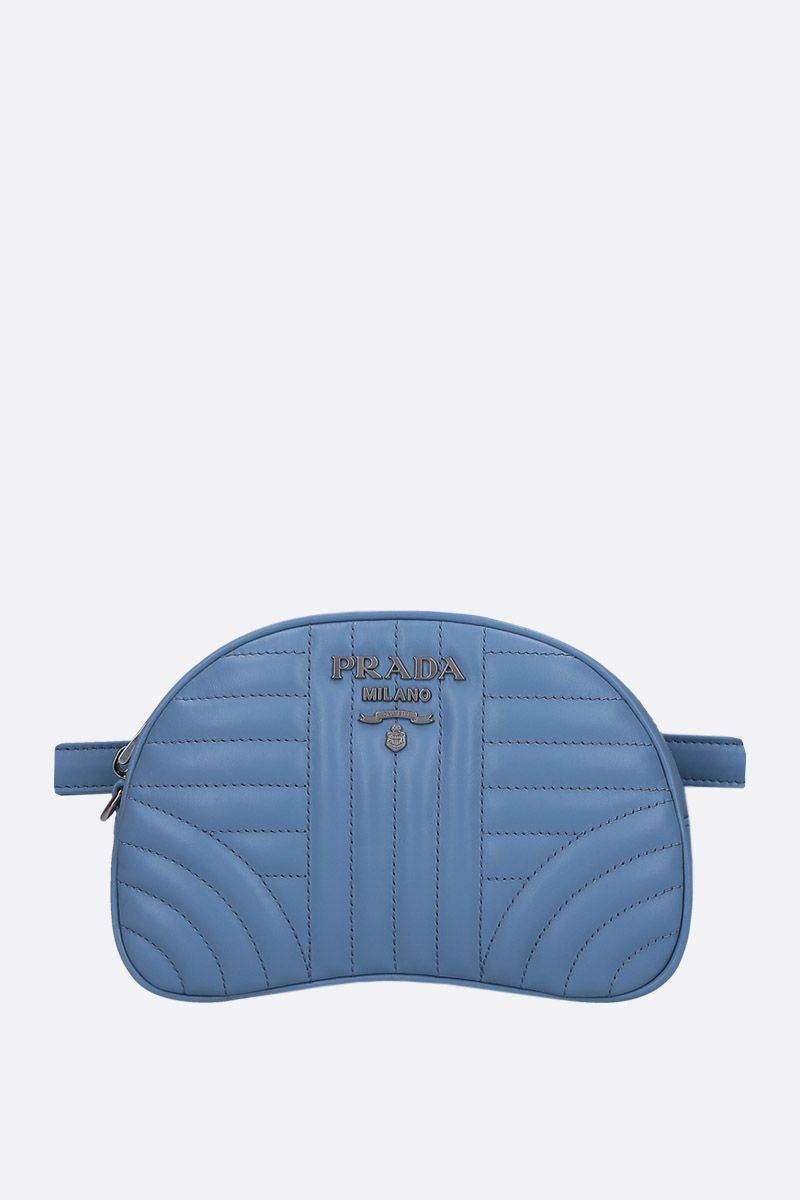 PRADA: quilted leather belt bag_1