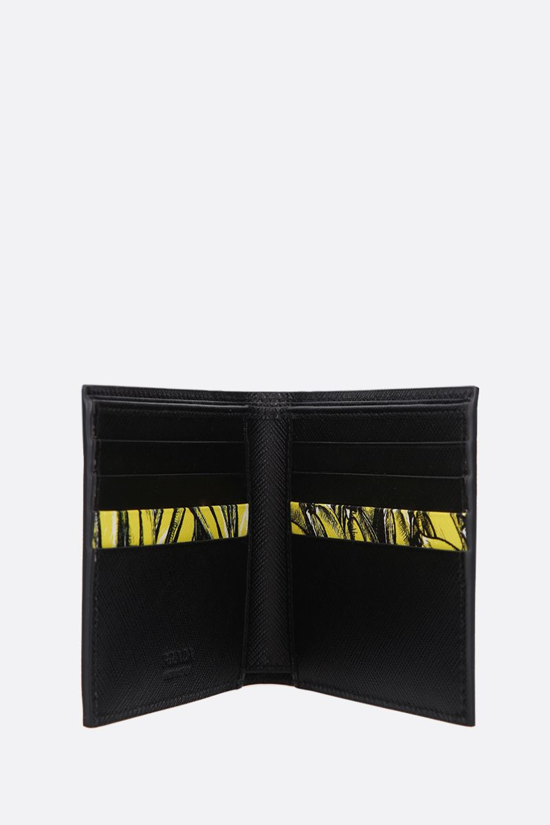 PRADA: Saffiano leather billfold wallet_2