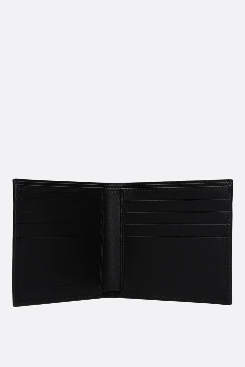 PRADA: Saffiano leather billfold wallet Color Multicolor_2