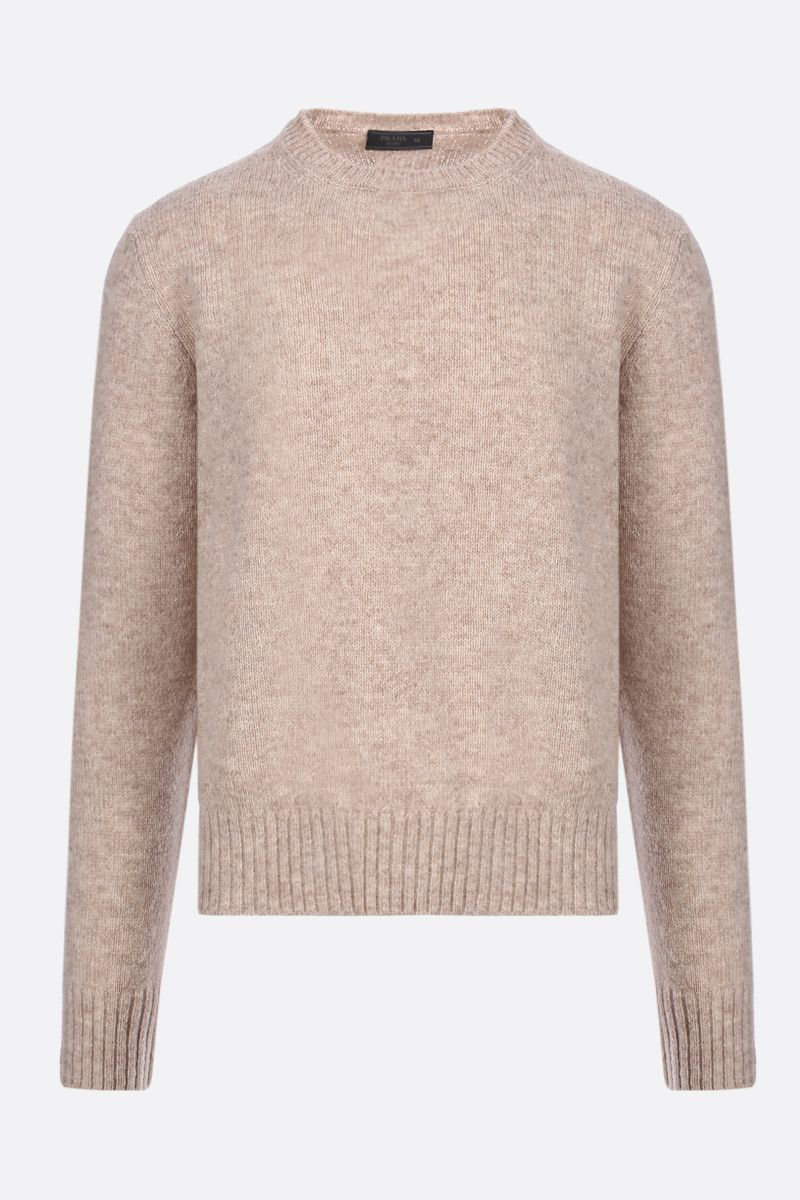 PRADA: Shetland wool pullover Color Neutral_1