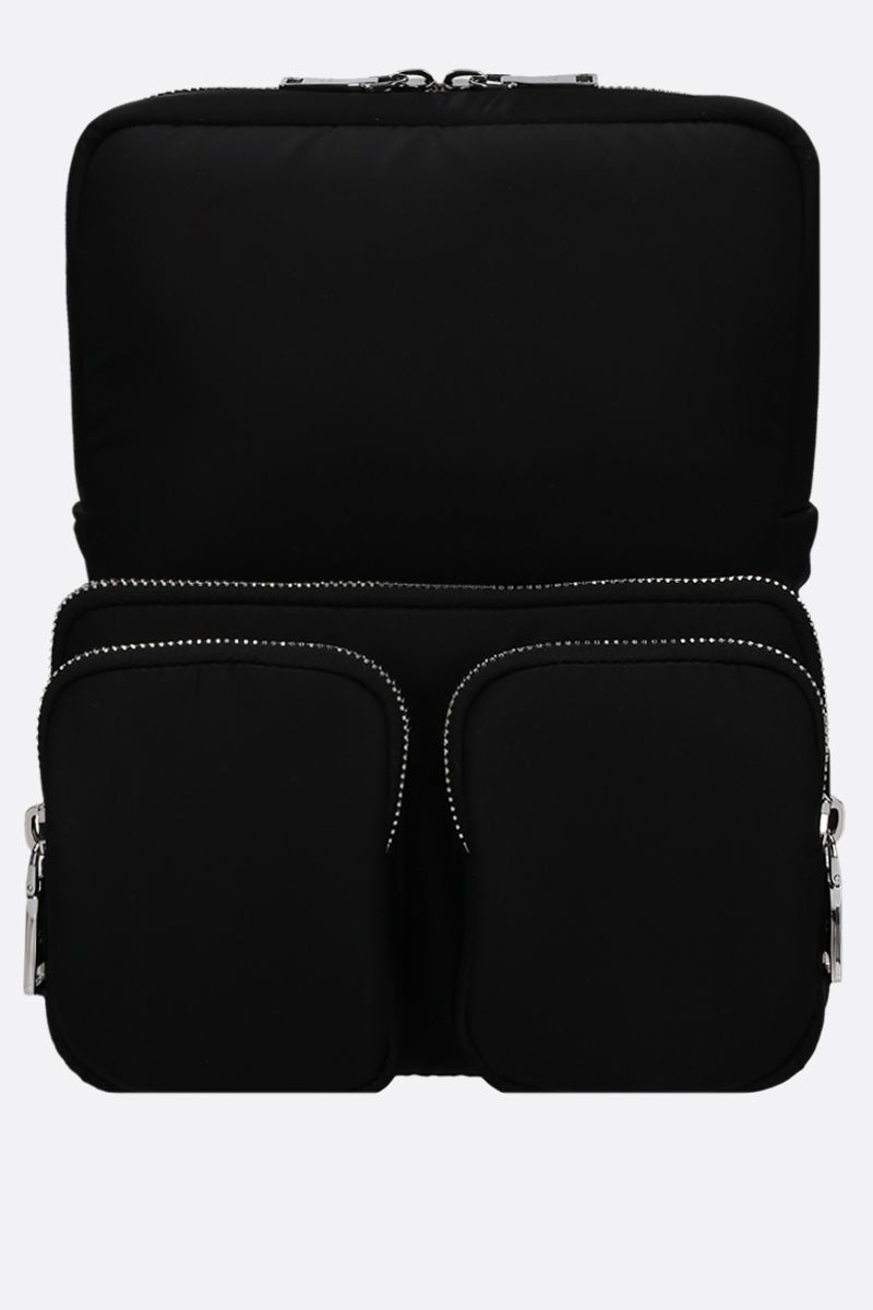 PRADA: padded nylon backpack Color Black_1