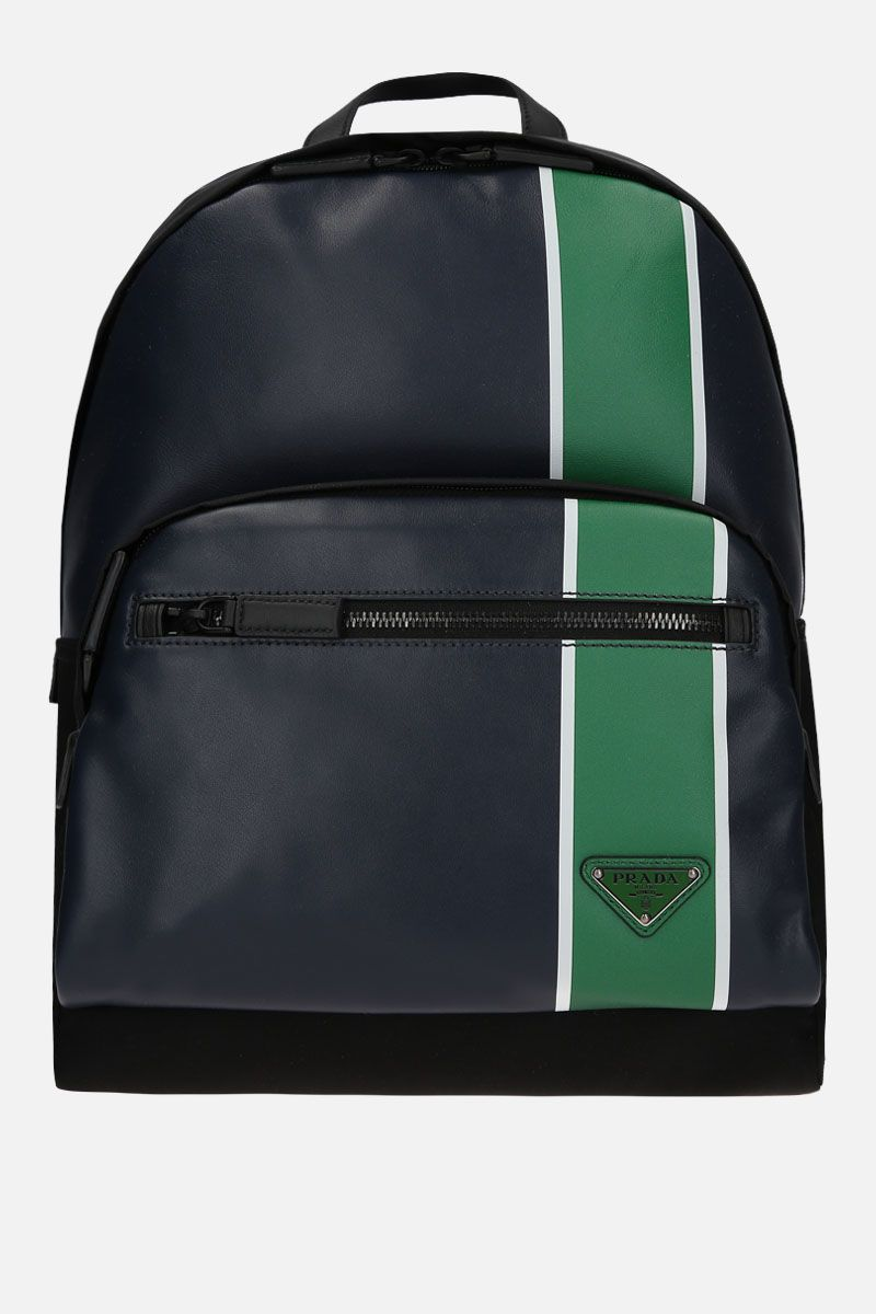 PRADA: nylon and smooth leather backpack_1