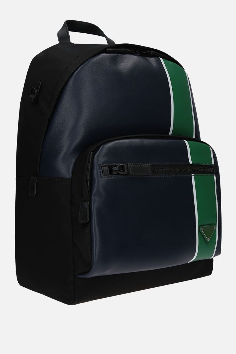 PRADA: nylon and smooth leather backpack_2