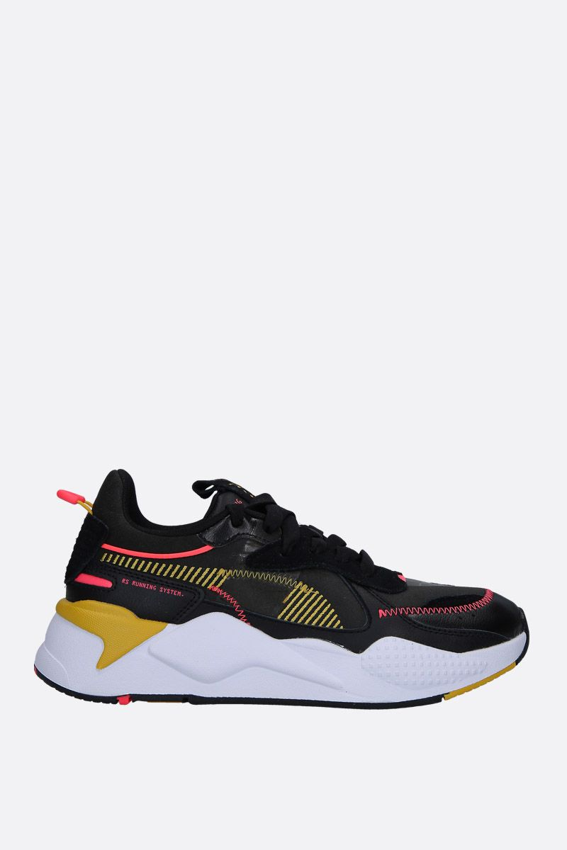 PUMA: RS-X Proto sneakers in neoprene and faux leather Color Black_1
