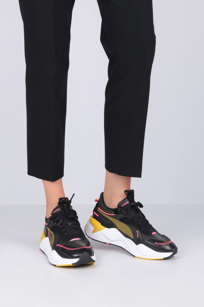 PUMA: RS-X Proto sneakers in neoprene and faux leather Color Black_2