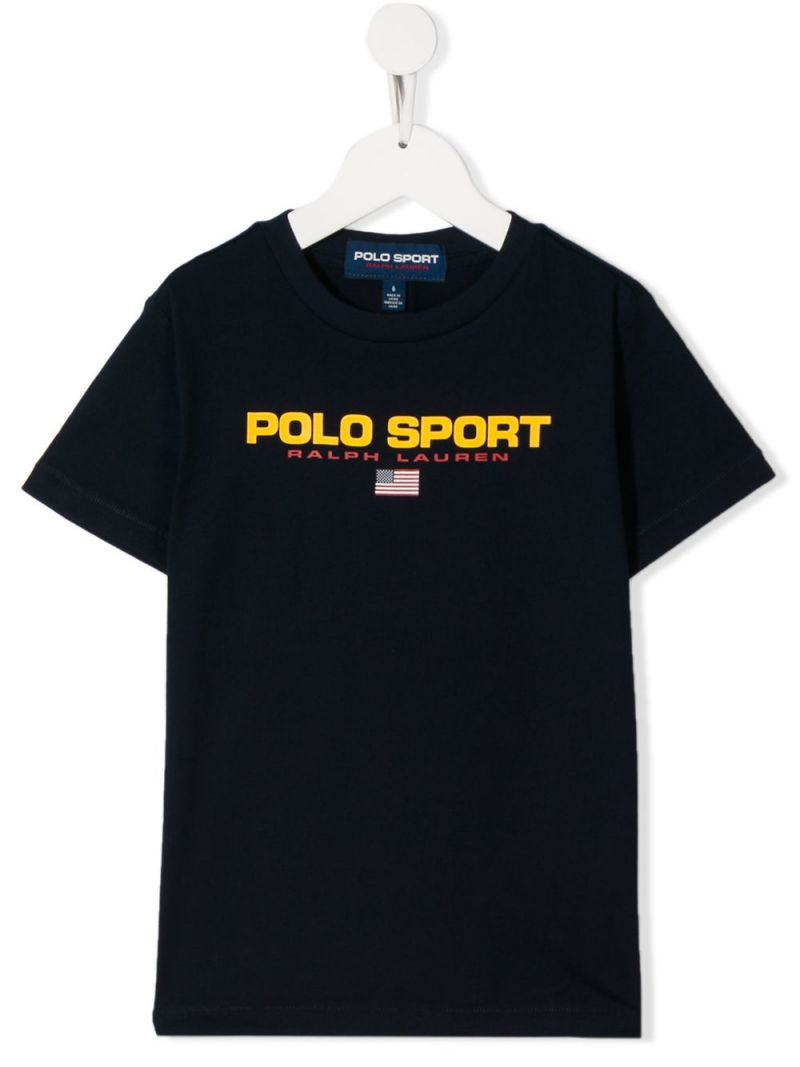 RALPH LAUREN KIDS: Polo Sport jersey t-shirt Color Blue_1
